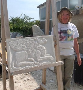 Carol Griffin- Relief Carving