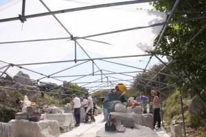 Tout Quarry Open Air Workshop